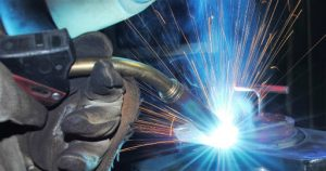 Hand Welding using Gas metal arc
